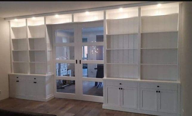 drzwi wewnętrzne drewniane białe w zabudowie 2 Promocja miesiąca -100