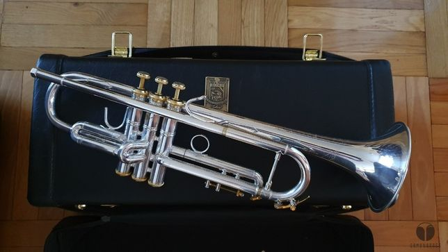 Bach Stradivarius SOLOIST 37 ML LEADPIPE REVERSE! trąbka futerał