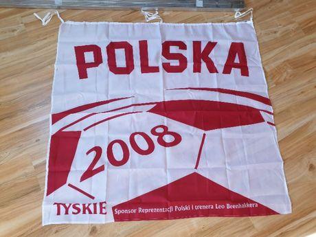 Flaga Polska Tyskie 3 szt nowe nie otwarte