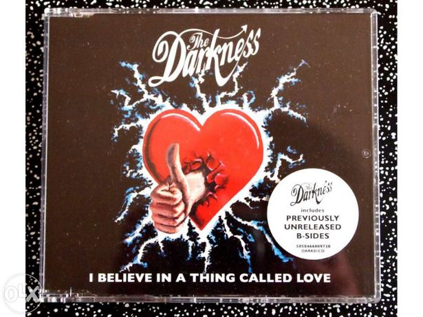 The darkness i believe in a thing called love CD