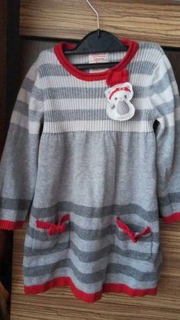 Продам платье тепленькое Mayoral (майорал)для девочки на рост 86
