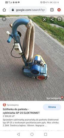 Maszyna do cyklinowania parkietów sp-25