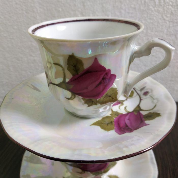 Чайная пара чашка+ блюдце Краматорск - изображение 1