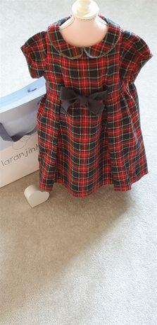 Vestido Laranjinha - 12 Meses - Chic Colletion