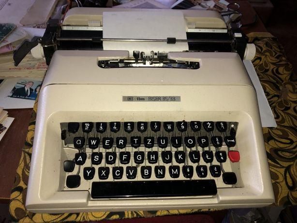 Maszyna do pisania Unis TBM Biser 35/33,