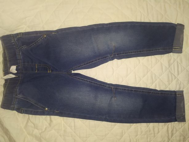 Jeansy chłopięce spodnie rozmiar 110 cool club