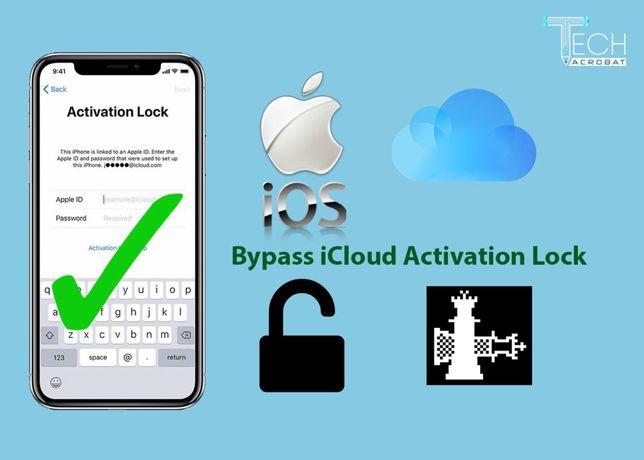 Разблокировка, снятие, обход iCloud bypass iphone ipad