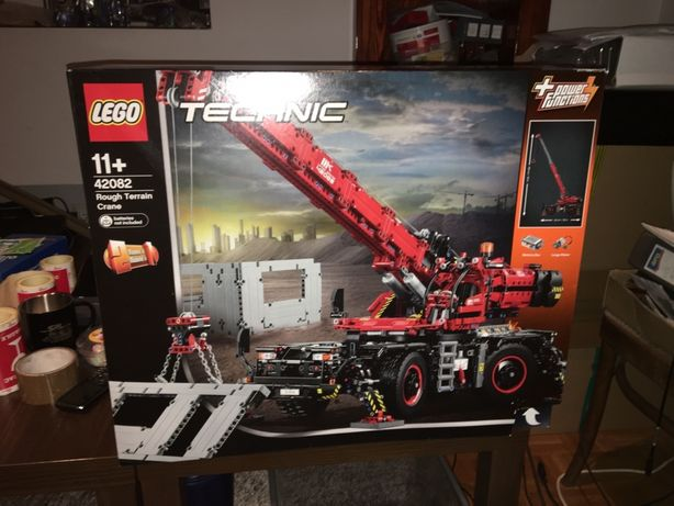 Lego 42082 Technic Drzwig Rough Terrain Crane Nowe Oryginal Unikat
