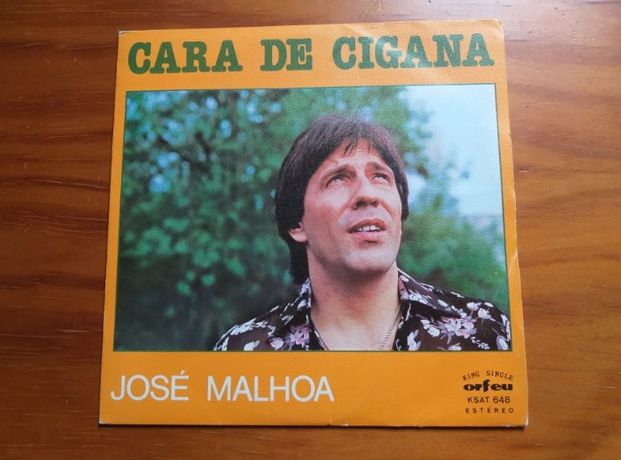 Single Vinil José Malhoa-Cara de Cigana
