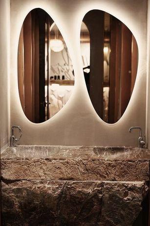 Зеркала с подсветкой, состаренные зеркала.