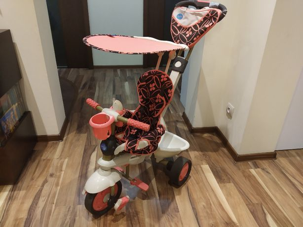 Rowerek Smart Trike 4w1 Dream Touch Steering różowy