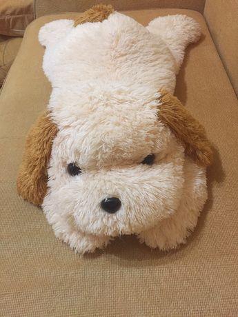 Велика м'яка іграшка собака, большая мягкая собака