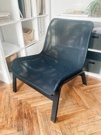 Fotel, czarny, NOLMYRA, IKEA