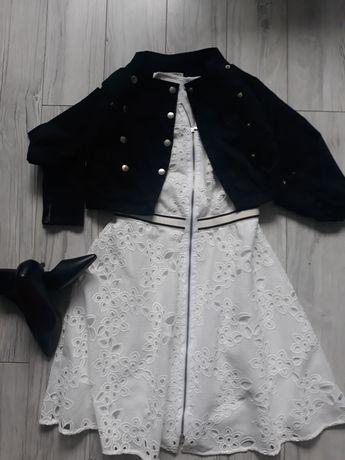 Sukienka, bolero,buty