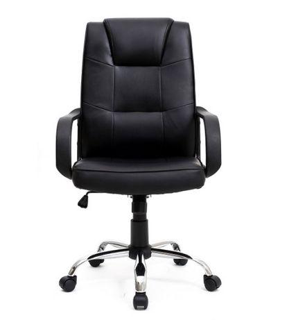 Cadeira Executiva de couro sintetico NOVA em cx selada