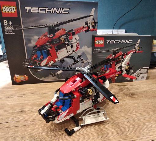 Lego technic 42092 (Rescue Helicopter) Вертоліт рятувальний