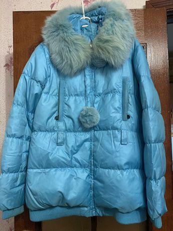Пуховик куртка размер 48