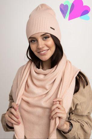 Однотонный шарф-косынка платок, 11 расцветок в наличии