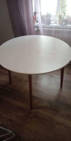 Stół okrągły biały 120 cm