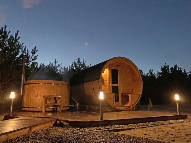 Leśna Bania, sauna, jacuzzi
