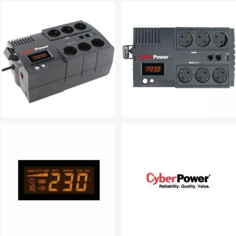 UPS CyberPower BR450ELCD-FR - nowa bateria.