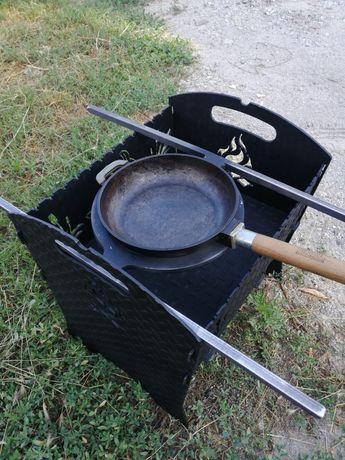 Подставка под кателок(сковороду) на мангал