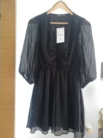 Vestido preto/Zara