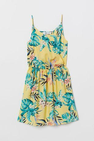 Платье H&M, 10-11 лет, б/у