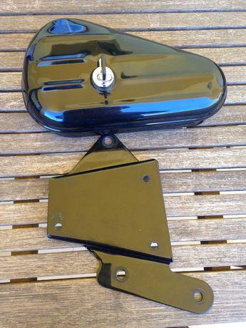 Harley Davidson mala de ferramentas original para Softail