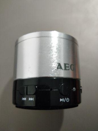 Coluna AEG bluetooth