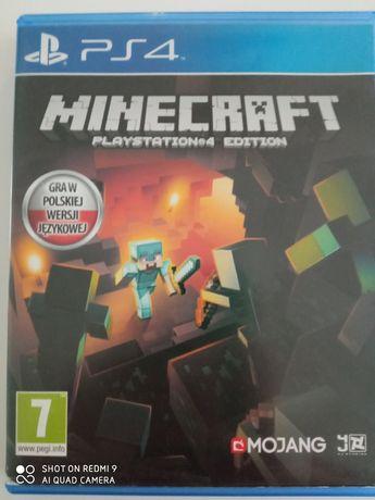 Gra Minecraft playstion4 edition