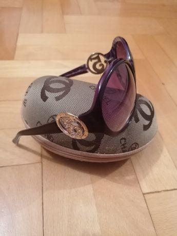 Okulary muchy przeciwsłoneczne CHANEL NR 5.jak nowe