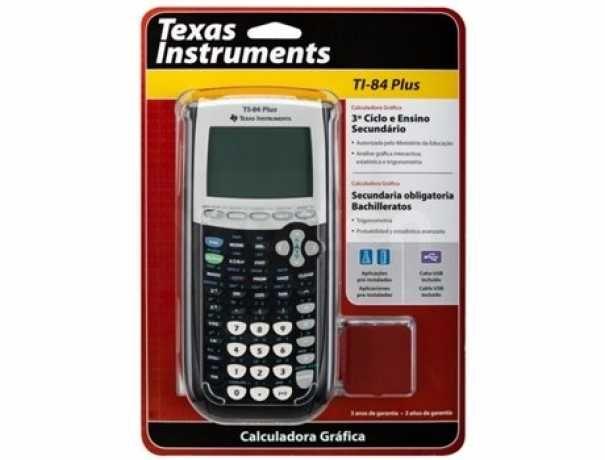 Calculadora Gráfica TEXAS TI-84 Plus autorizada Ministério da Educação