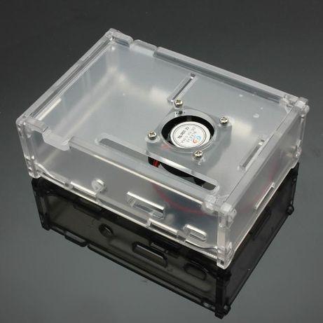 RPI002 - Caixa com cooler para Raspberry Pi 2 e 3 modelo B