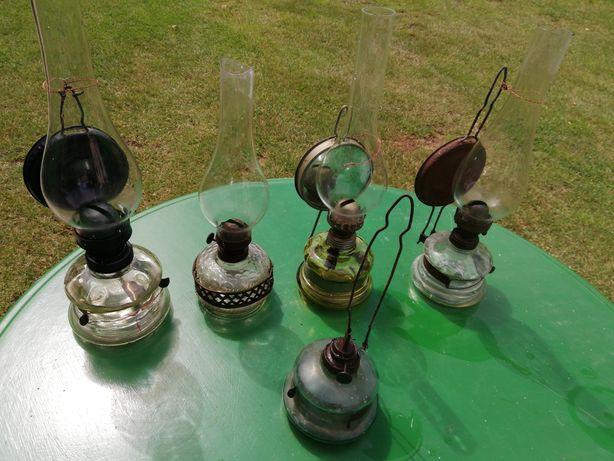 Zabytkowe lampy naftowe