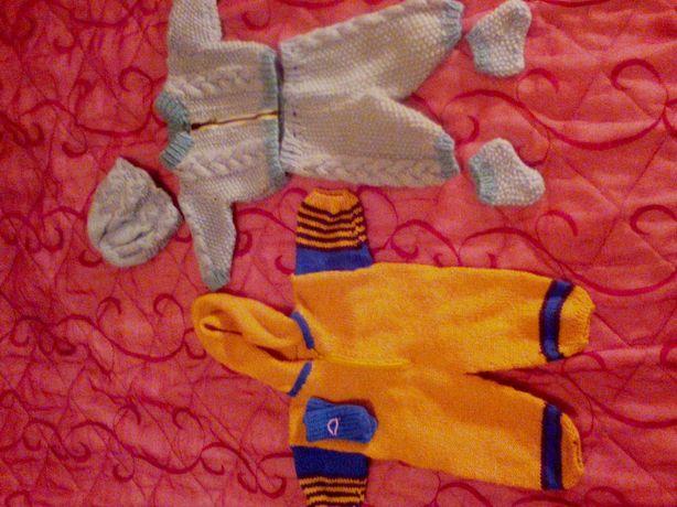 В'язаний одяг для ляльки