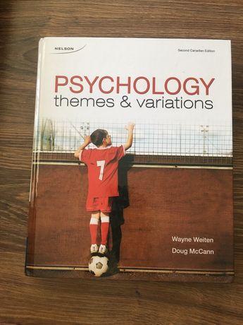 "Książka ""Psychology themes &variations"""