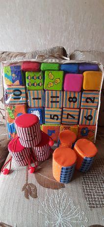 Набор мягких кубиков для малыша