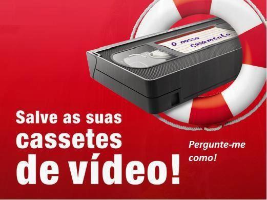 Conversão de Video Cassetes para formato digital (DVD)