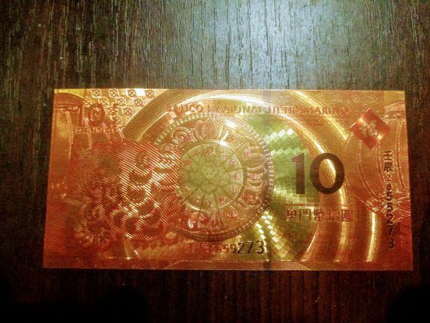 Миллион долларов Сувенир золотая фольга банкноты