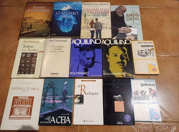 Actualizado Aquilino, Saramago, José Rodrigues dos Santos etc
