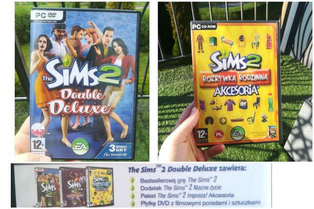 The Sims 2 podstawa + 3 dodatki