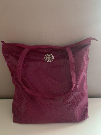 Torba różowo fioletowa