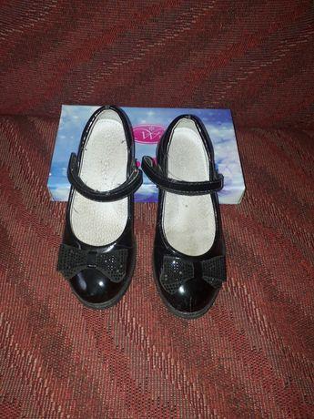 Лакированные туфли для девочки. Размер 27