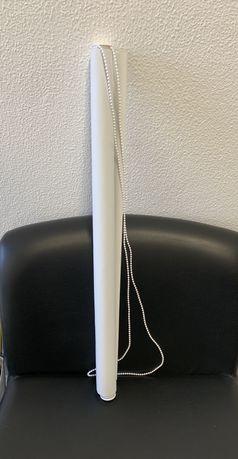 Estore de Rolo Branco 0.8m x 2.5m