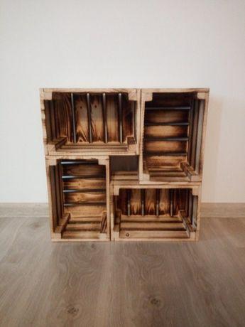 Skrzynka ozdobna, drewniana 30x20x12 na prezent meble półki