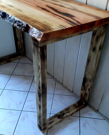 Blat stołu  modrzew deska