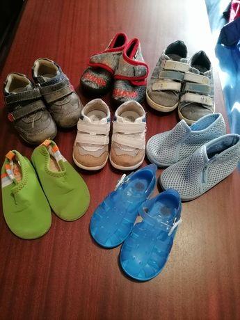 Lote de Sapatos de bebé 19-22