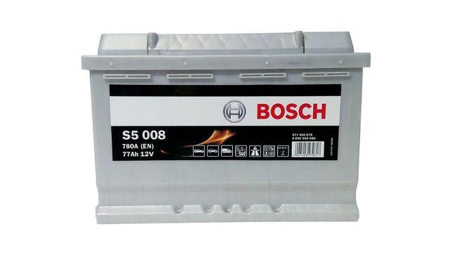 Akumulator samochodowy BOSCH S5 77Ah/780A