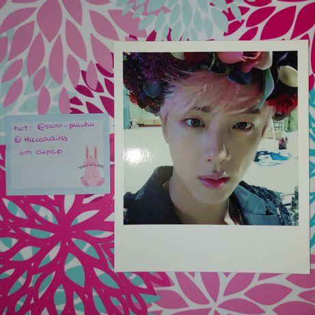 BTS Jin WINGS photocard